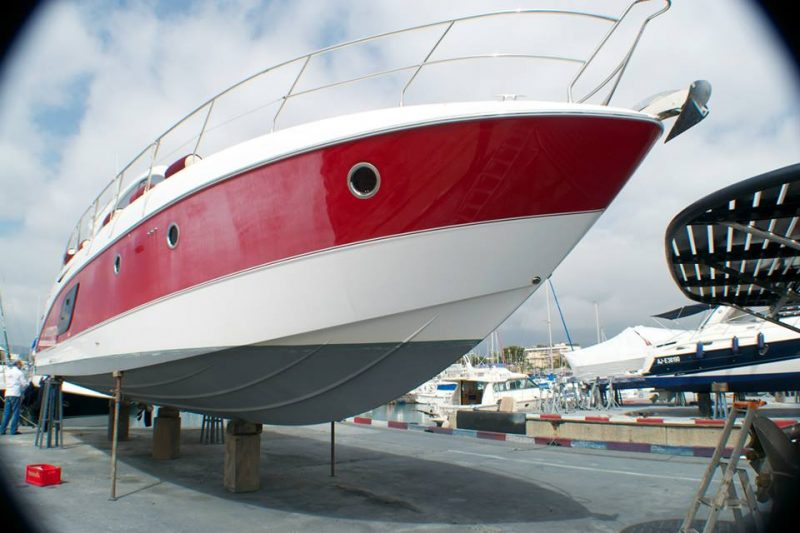 boat polishing compounding waxing yacht french riviera antibes cannes golfe juan