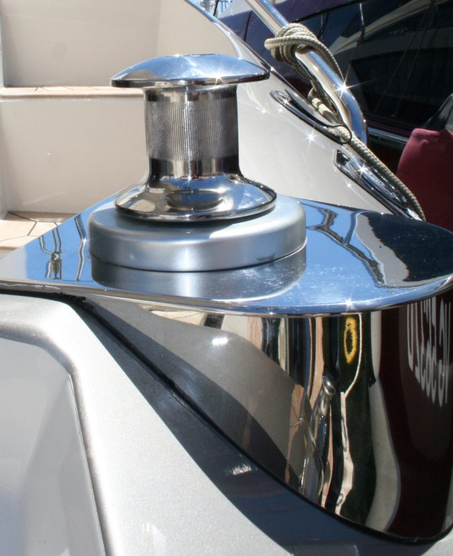 stainless steel polishing boat yacht french riviera cannes antibes