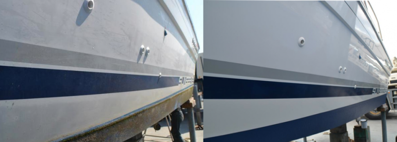 boat polishing waxing cannes antibes golfe-juan french riviera