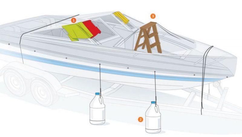 hivernage bateau surveillance gardiennage protection bateau hiver cannes antibes cote d'azur